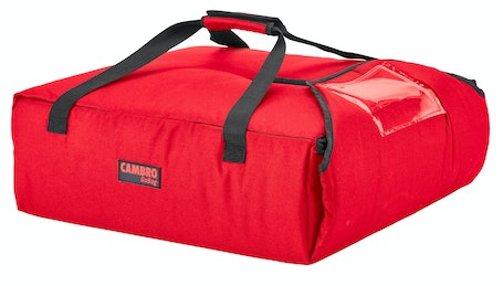 "GBPP216521 Red Pizza GoBag - 2 16"" Pizza Box Capacity"