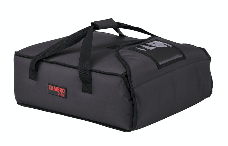 "GBP216110 Black Pizza GoBag - 2 16"" Pizza Box Capacity"
