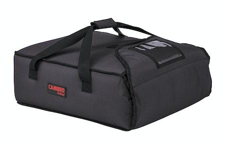 """GBP216110 Black Pizza GoBag - 2 16"""" Pizza Box Capacity"""