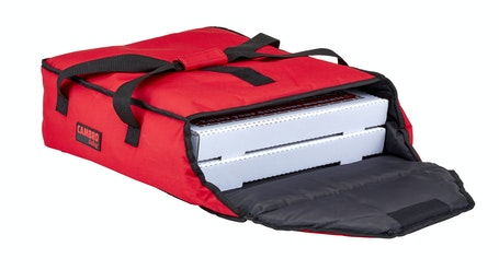 "GBP216521 Red Pizza GoBag - 2 16"" Pizza Box Capacity"