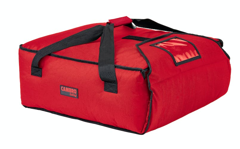 "GBP318521 Red Pizza GoBag - 3 18"" Pizza Box Capacity"