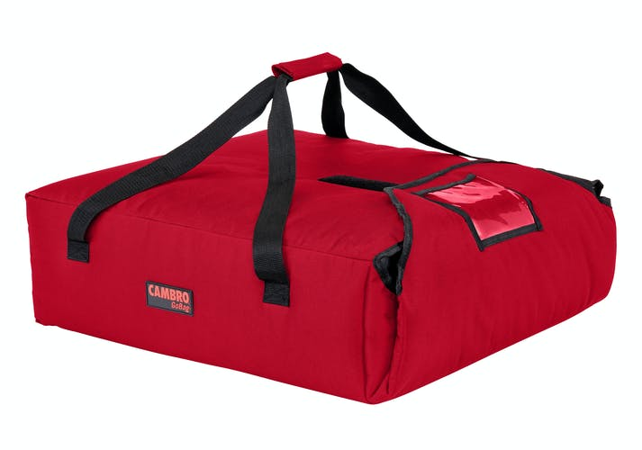 "GBP220521 Red Pizza GoBag - 2 20"" Pizza Box Capacity"