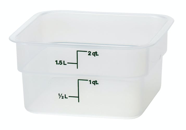 2SFSPP190 2 QT Translucent Storage Container