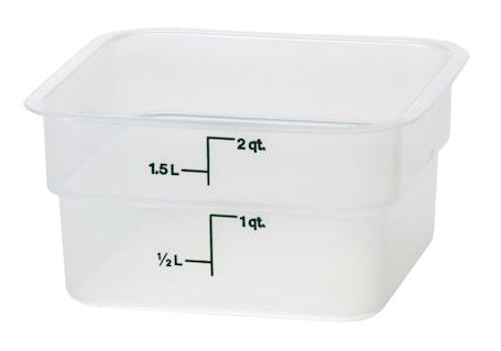 2SFSPP190 2 QT Translucent Storage Container