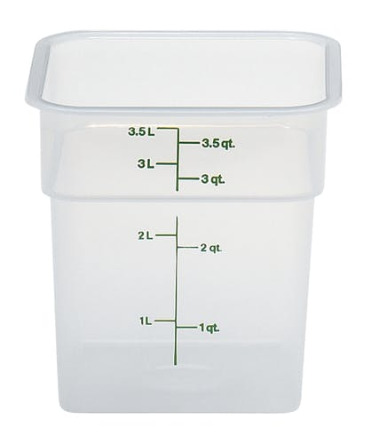 4SFSPP190 4 QT Translucent Storage Container
