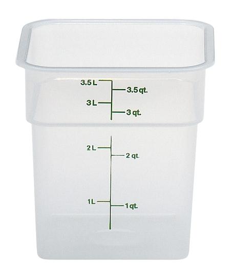 4SFSPP190 4 QT Translucent Storage Container