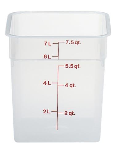 8SFSPP190 8 QT Translucent Storage Container