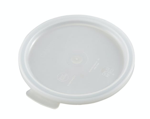 RFSC1148 White Poly Round Container Cover