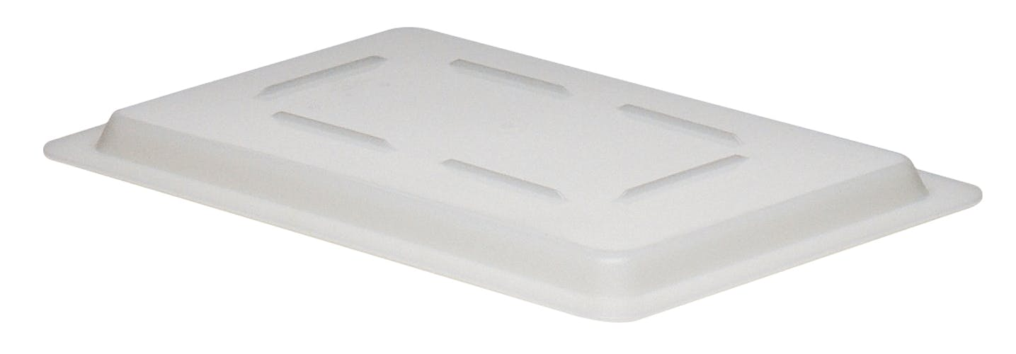 1218CP148 White Poly Food Storage Box Flat Lid