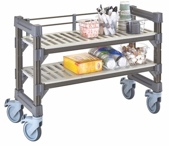 EMU143627V2580 Elements Series Undercounter Mobile Unit w/ Rails & Supplies