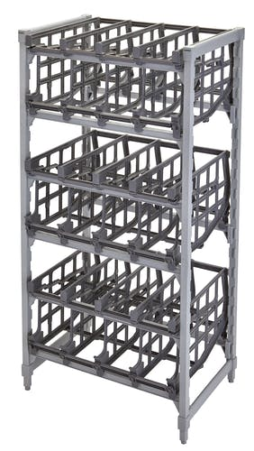 CPU243672C96480 Premium Full-Size Stationary Can Rack