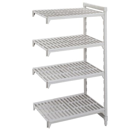 Camshelving® - Add-On Units - Stationary with Vented Shelves