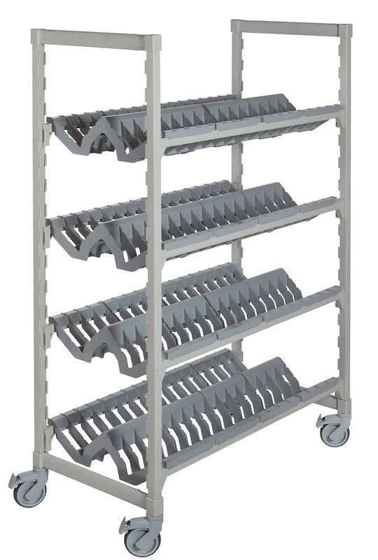 Camshelving® Premium Series Angled Drying Rack for Healthcare