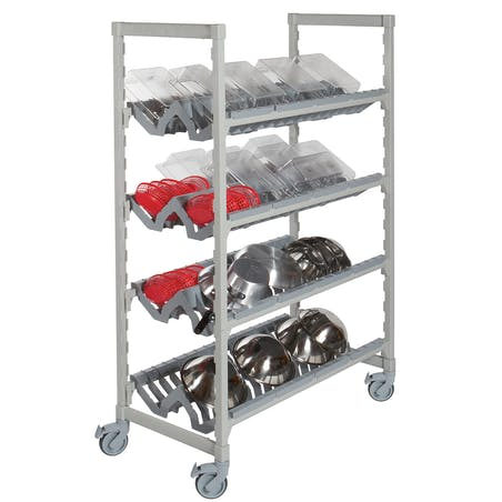 Camshelving® Premium Series Angled Drying and Storage Rack