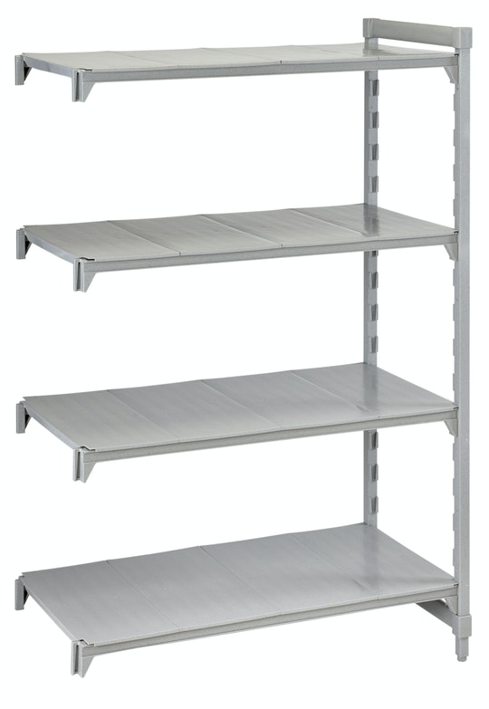 Camshelving® - Add-On Units - Stationary with Solid Shelves