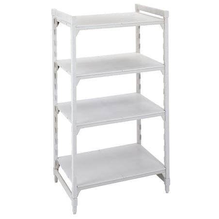 Camshelving® Metric Stationary Starter Units with Solid Shelves