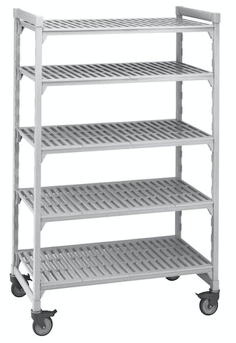 5 Shelf Mobile Unit