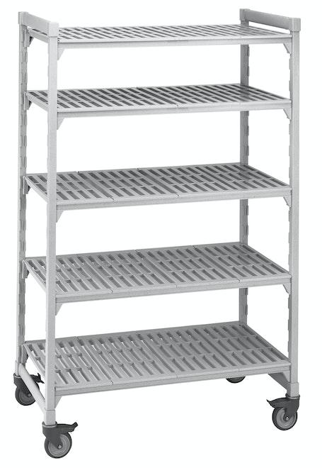 5 Shelf Mobile Unit