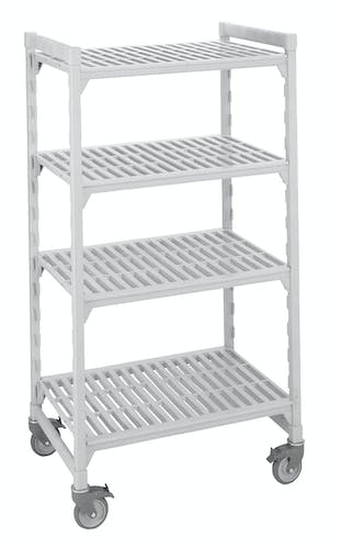 4 Shelf Mobile Unit