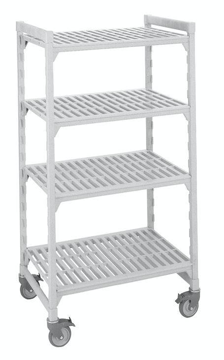 4 Shelf Mobile Unit