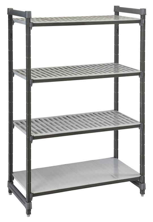 Elements Series Stationary Starter Units - Vented Shelves