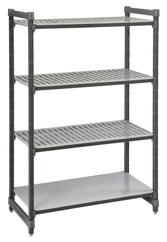 Elements Series Stationary Starter Units - Vented Shelves