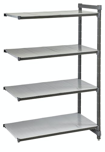 EA182472S4580 Camshelving® Elements Add On Unit 4S 18X24X72 Brushed Graphite