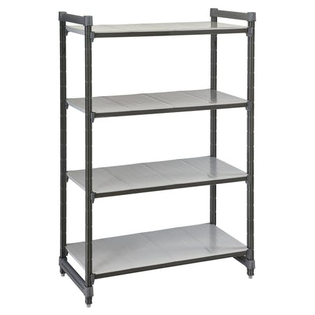 Elements Series Stationary Starter Units with Solid Shelves