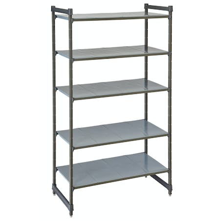 Basics Plus Stationary Starter Units - Solid Shelves