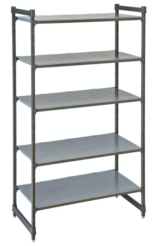 Basics Plus Stationary Starter Units - Solid Shelves