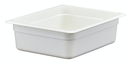 24CW148 Camwear White 1/2 Size Food Pan