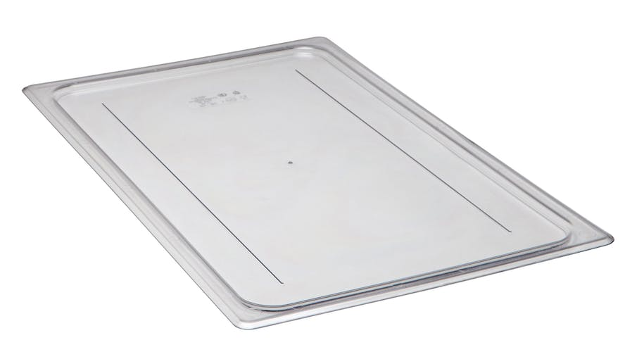 10CWC135 Clear Camwear Flat Cover Lid