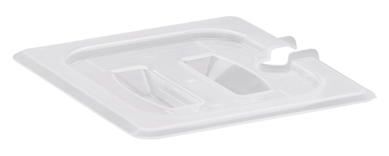 60PPCHN190 GN 1/6 Notched Cover w/ Handle for Food Pans