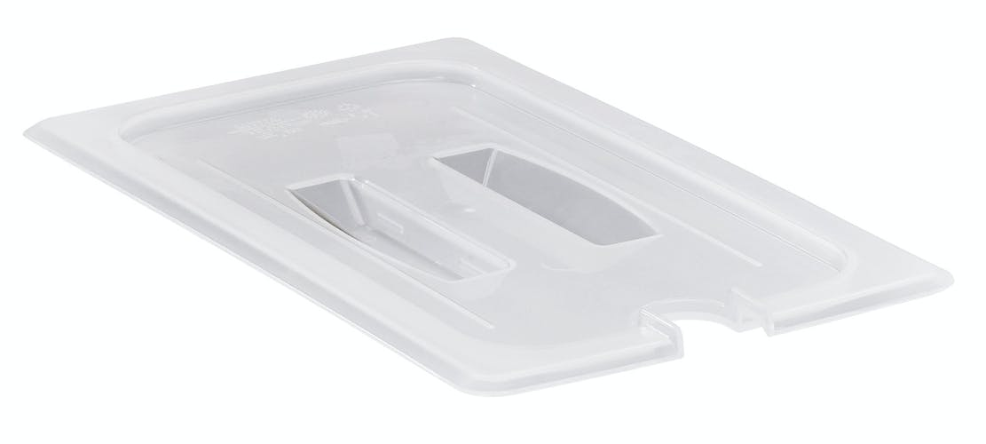 30PPCHN190 GN 1/3 Notched Cover w/ Handle for Food Pans