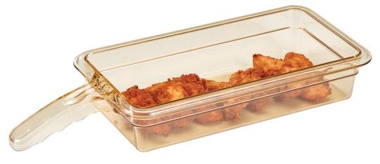 Bac à aliments hautes températures H-Pan™ avec poignée