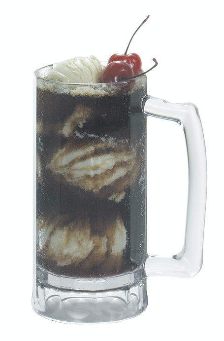 BWB16CW135 Aliso 16 oz Beer Mug w/ Ice Cream Float