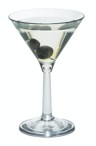 BWM10CW135 Aliso Martini Glass w/ Alcohol