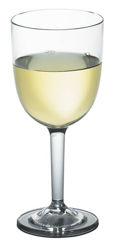 BWW10CW135 Aliso Wine Glass w/ White Wine