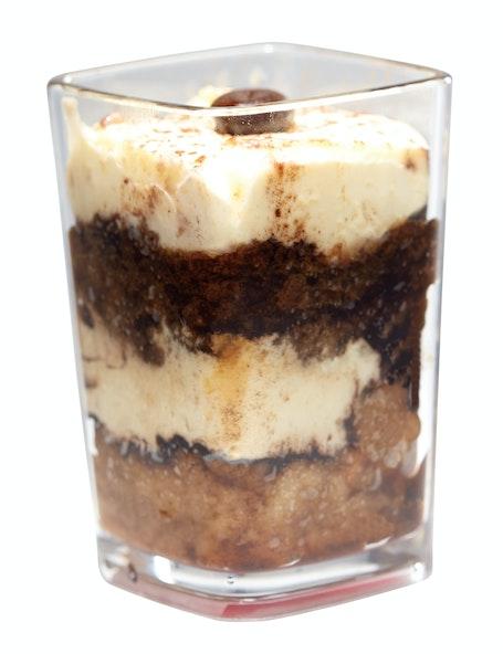 DG3CW135 Aliso Barware Clear Dessert Glass w/ Parfait