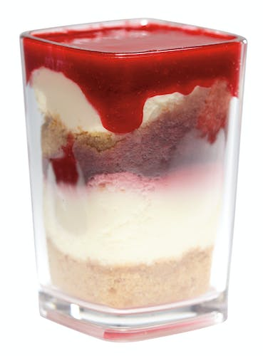 DG3CW135 Aliso Barware Clear Dessert Glass w/ Parfait 2