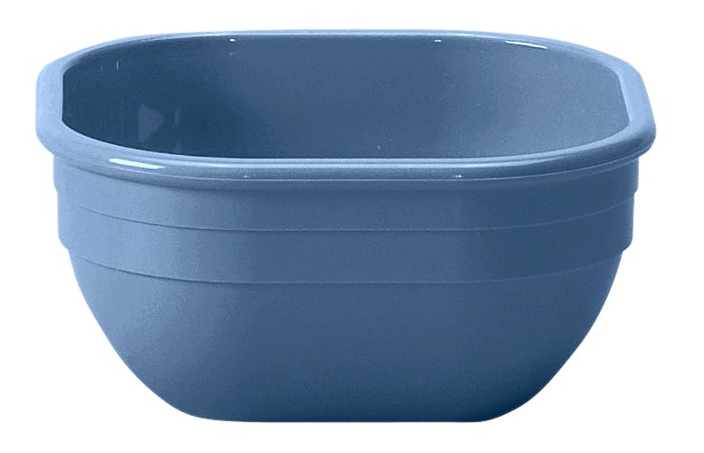 10CW401 Camwear Dinnerware Bowl - Slate Blue 9.4 oz Square