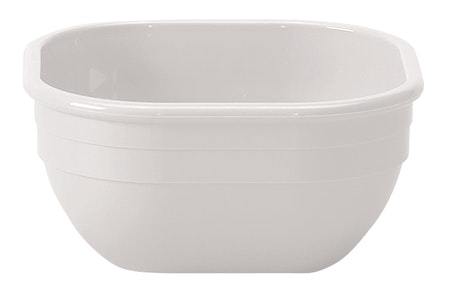 10CW148 Camwear Dinnerware Bowl - White 9.4 oz Square
