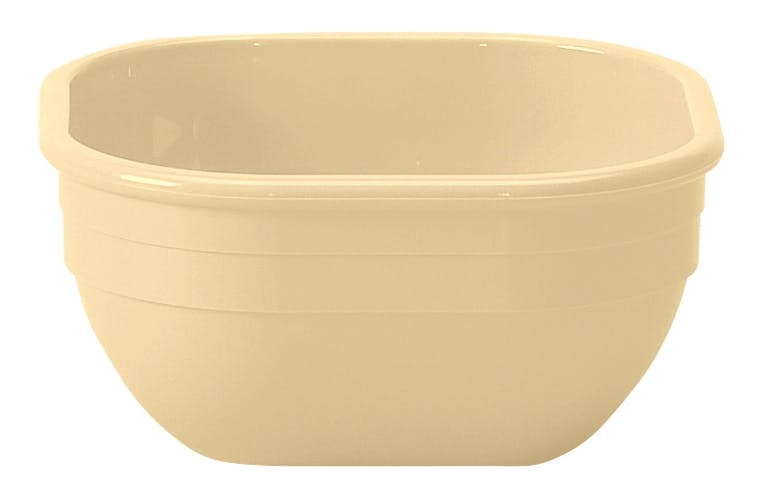 10CW133 Camwear Dinnerware Bowl - Beige 9.4 oz Square