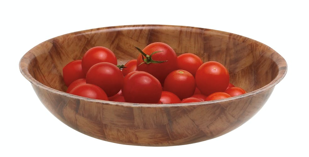 "6F301 Fiberglass 6.125"" Diam. Bowl w/ Tomatoes"