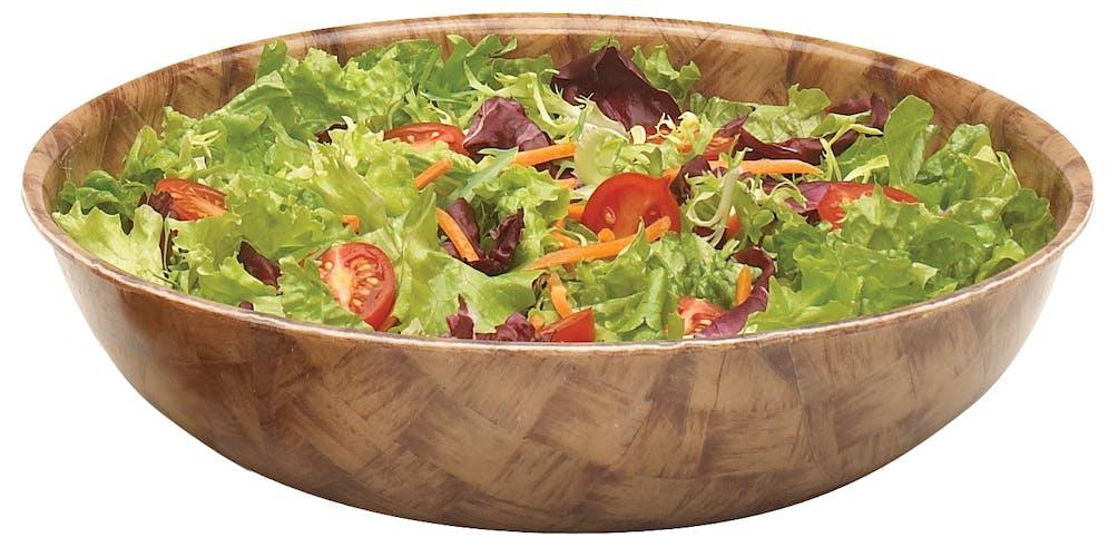 """8F301 Fiberglass 8"""" Diam. Bowl w/ Salad"""
