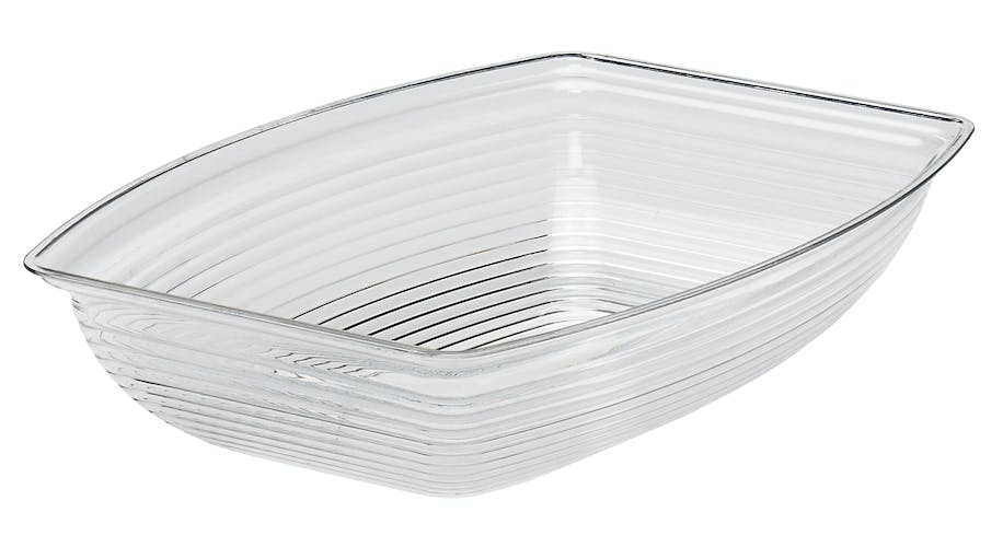 Rectangular Ribbed Bowl