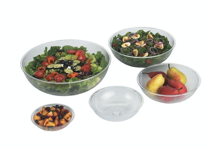 PSB8176 Camwear Round Pebbled Bowls w Food
