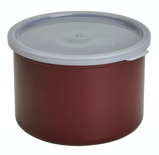 CP15195 Reddish Brown 1.5 QT Crock w/ Lid