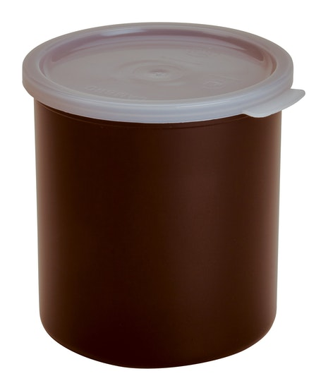 CP27195 Reddish Brown 2.7 QT Crock w/ Lid
