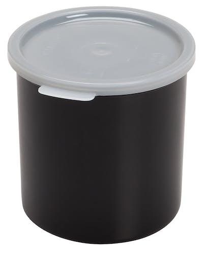 CP12110 Black 1.2 QT Crock w/ Lid